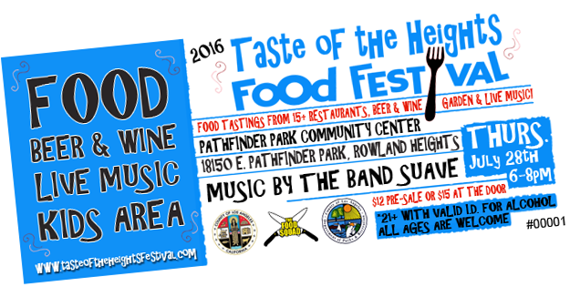 Taste of the Heights Food Festival Tickets